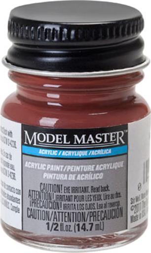 Model Master: Acrylic Paint - Boxcar Red (Flat) image