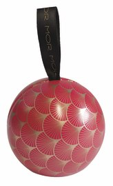 MOR Playful Pomegranate Bauble (60g Soap)