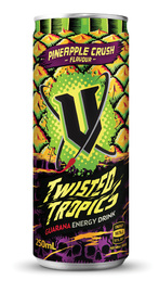 V Twisted Tropics 250ml (24 pack)