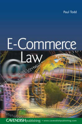 E-Commerce Law by Paul Todd image
