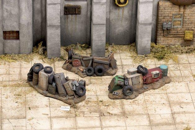 Fallout: Wasteland Warfare Junk Barricades