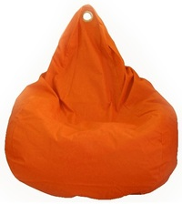 Beanz Big Bean Indoor/Outdoor Bean Bag Cover - Orange