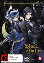 Black Butler: Book Of Circus (Season 3) on DVD image