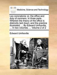 Lex Coronatoria by Edward Umfreville
