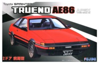 Fujimi: 1/24 Toyota AE86 Trueno 2 Door GT APEX (Early Production) - Model Kit