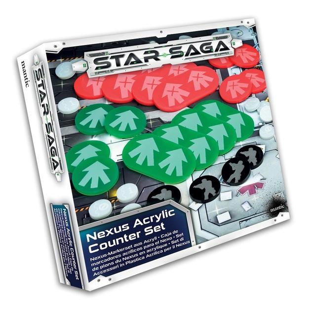 Star Saga: Nexus Acrylic Counter Set