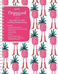 Posh: Organized Living 2018-2019 Monthly/Weekly Planning Calendar by Andrews McMeel Publishing