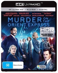 Murder On The Orient Express on UHD Blu-ray