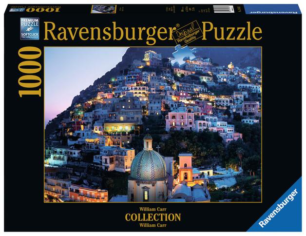 Ravensburger : Positano Houses Puzzle (1000 Pcs)