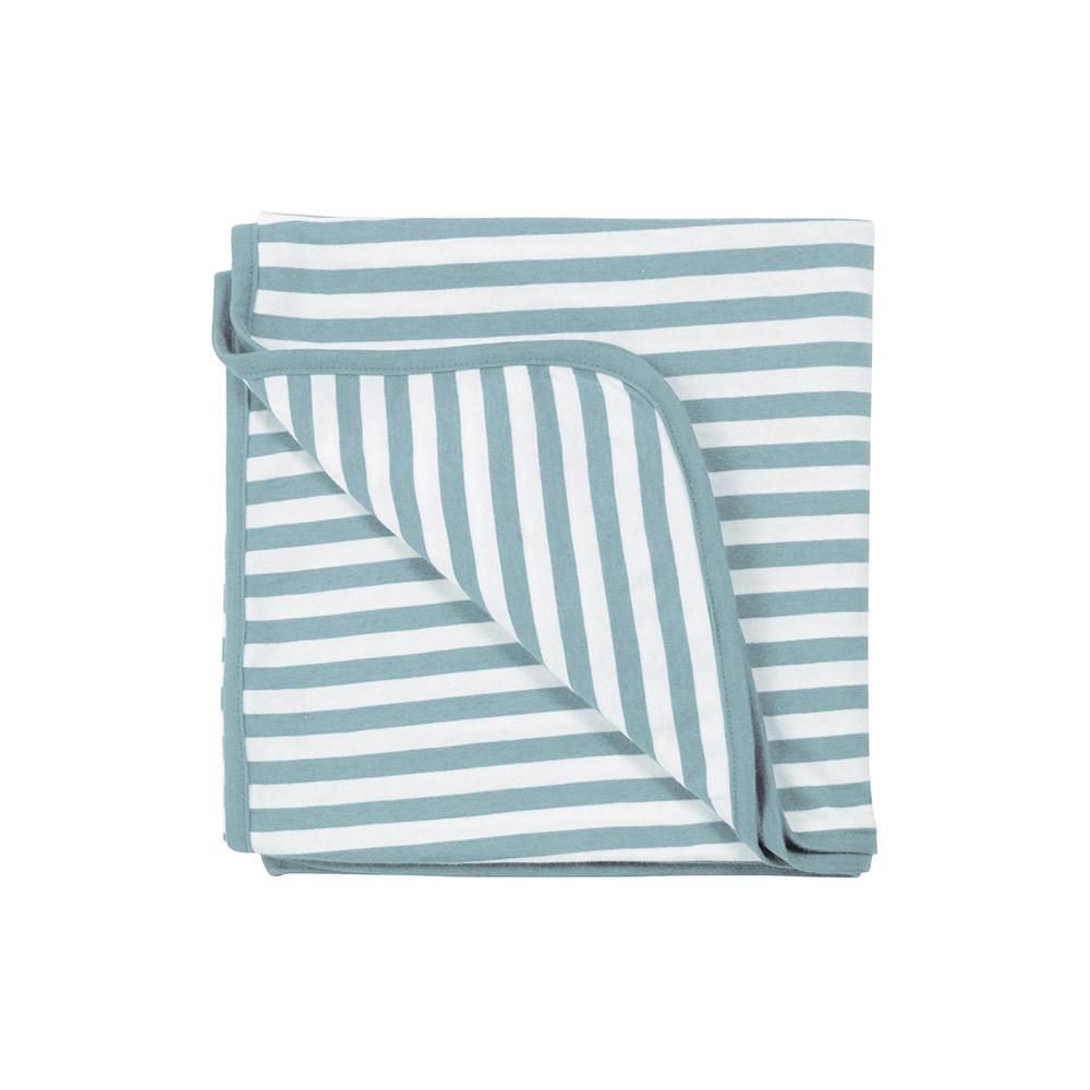 Woolbabe: Merino/Organic Cotton Swaddle/Blanket - Tide image