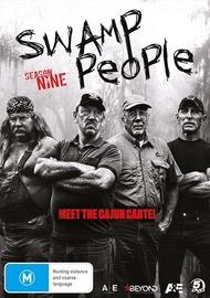 Swamp People: Season 9 on DVD