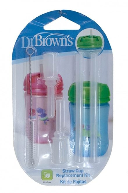 Dr Brown's Replacement Straws for Straw Cup (2 Pack)