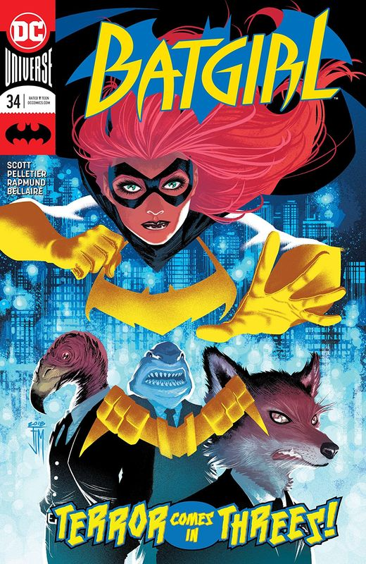 Batgirl - #34 (Cover A) by Mairghread Scott