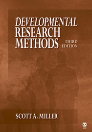 Developmental Research Methods by Scott A. Miller image