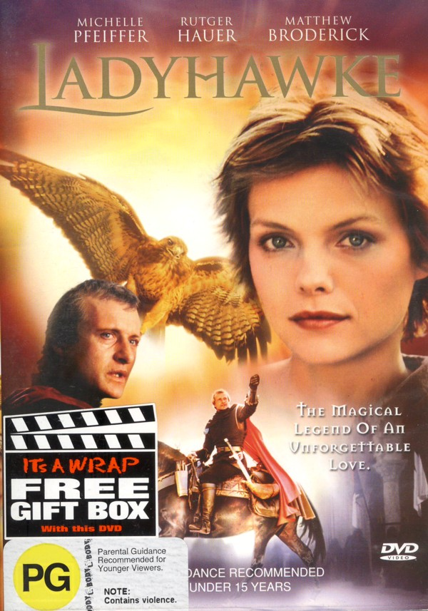 Ladyhawke on DVD image
