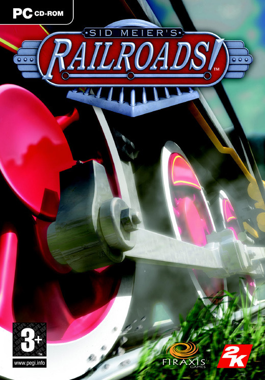 Sid Meier's Railroads! (jewel case packaging) for PC Games