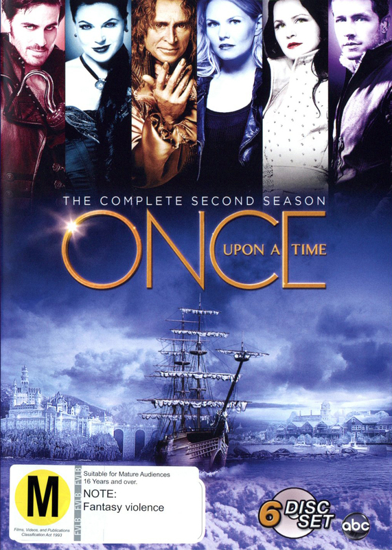 Once Upon a Time - The Complete Second Season on DVD