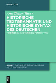 Historical Text Grammar and Historical Syntax of the German Language image