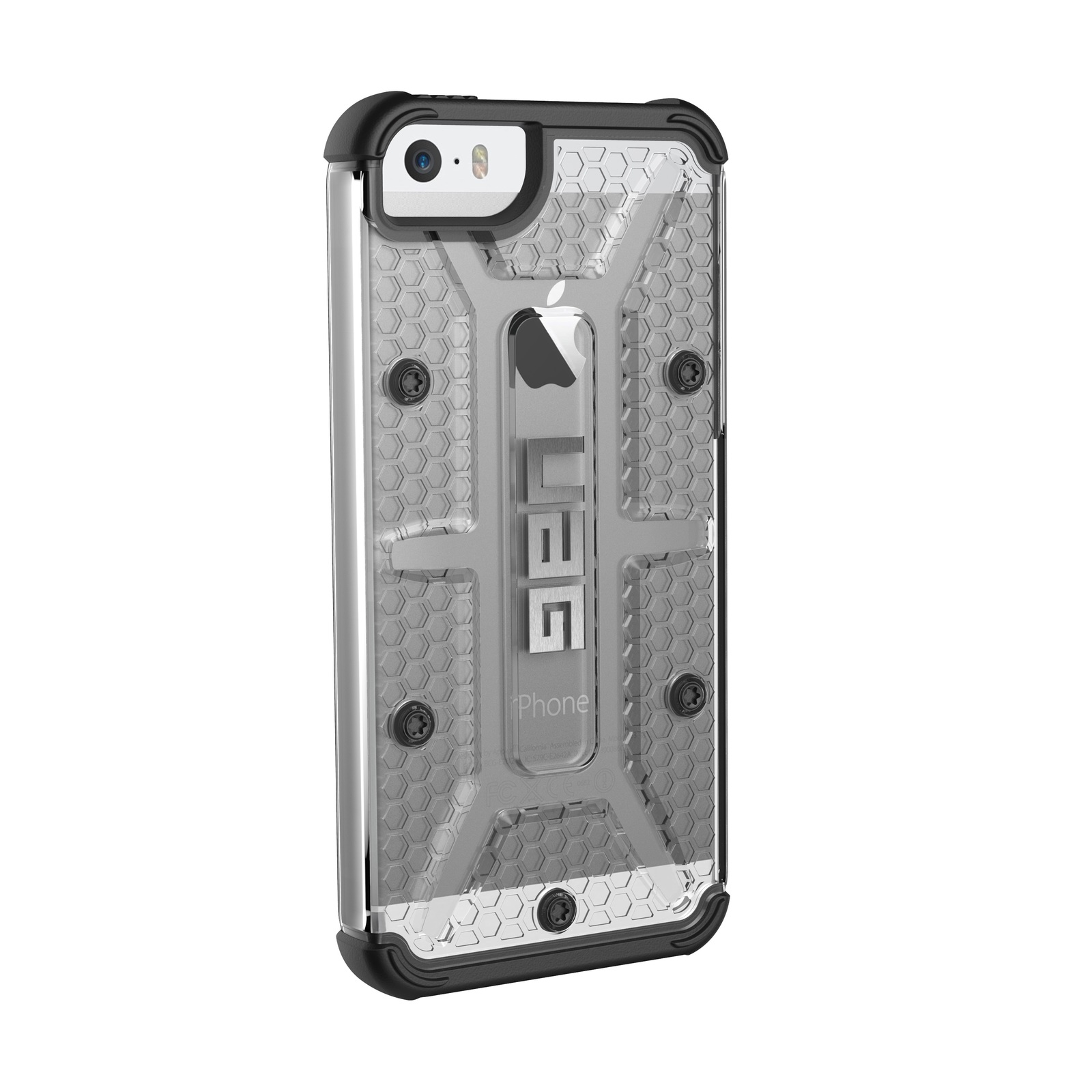 UAG Composite Case for iPhone 5S/SE (Ice/Black) image