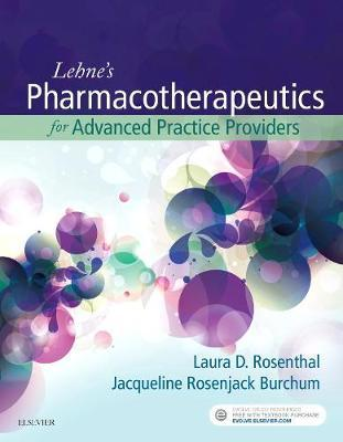 Lehne's Pharmacotherapeutics for Advanced Practice Providers by Laura Rosenthal image