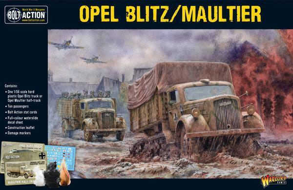 German Army Opel Blitz & Maultier