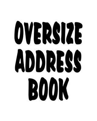 Oversize Address Book by Tri Media image