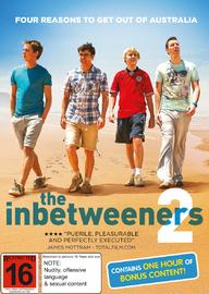 The Inbetweeners 2 on DVD