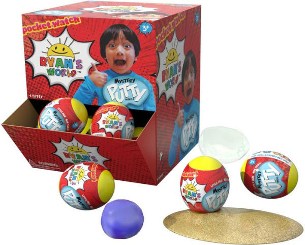 Ryans World Mystery Putty Egg NEW