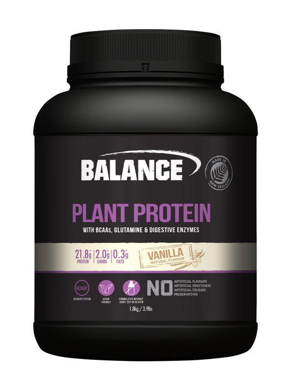 Balance Plant Protein - Vanilla (1.8kg)
