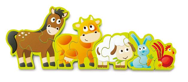 Hape: Numbers & Farm Animals Puzzle