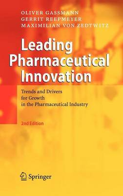 Leading Pharmaceutical Innovation by Oliver Gassmann image