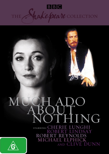 Much Ado About Nothing (1984) (Shakespeare Collection) on DVD