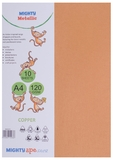 Mighty Metallic A4 120gsm Paper - Copper (Pkt 10)
