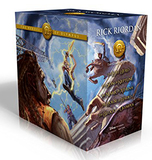 The Heroes of Olympus Box Set (All 5 Books, Hardback) by Rick Riordan