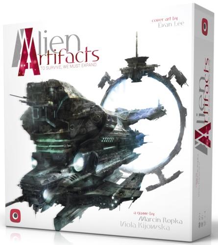 Alien Artifacts - Card Game image