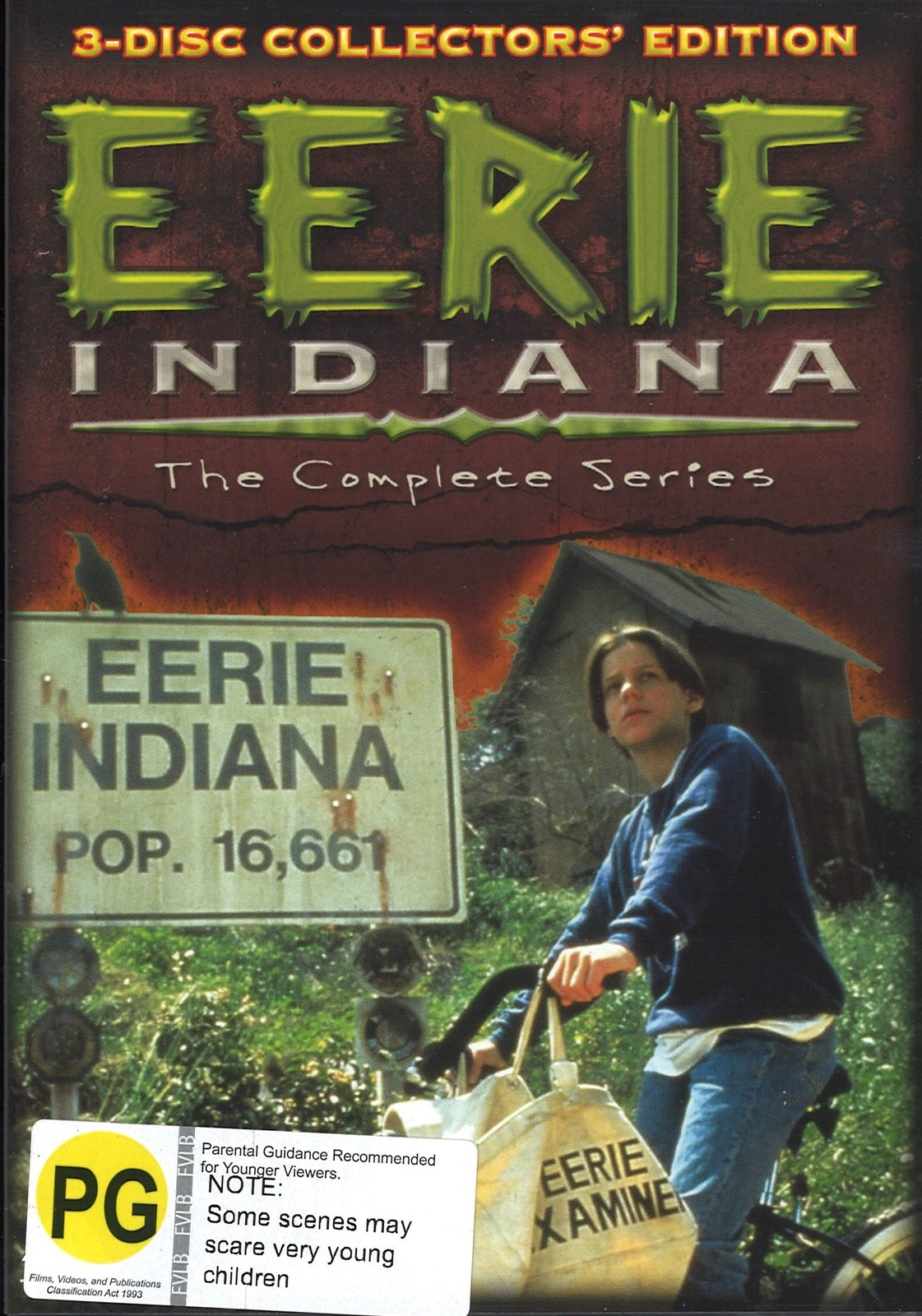 Eerie Indiana: The Complete Series on DVD image