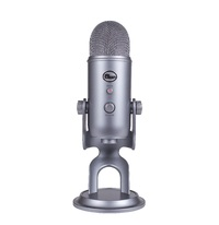Blue Microphones Yeti Multi-Pattern USB Microphone (Space Grey) for  image