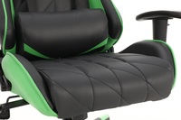 Playmax Elite Gaming Chair - Green and Black for  image