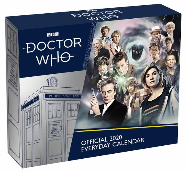 Official Doctor Who 2020 Boxed Calendar