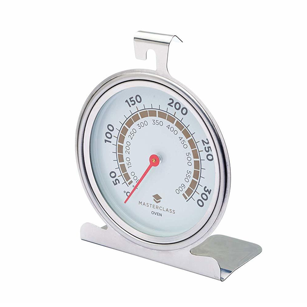 MasterClass: Large Stainless Steel Oven Thermometer (50°C to 300°C)
