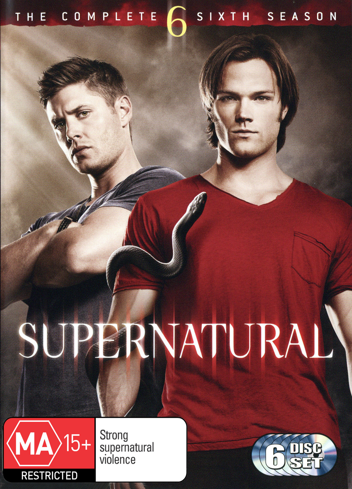Supernatural - The Complete 6th Season image, Image 1 of 1