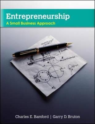 Entrepreneurship by Charles E Bamford