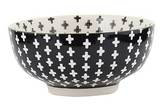 General Eclectic Cross Bowl - Black