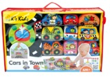 K's Kids - Take Along Cars In Town