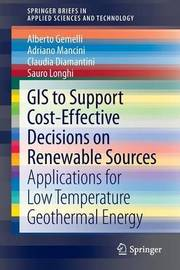GIS to Support Cost-effective Decisions on Renewable Sources by Alberto Gemelli