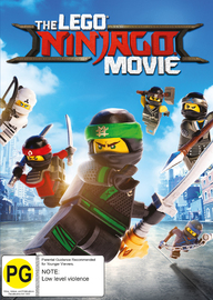 The Lego Ninjago Movie on DVD