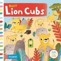 Busy Lion Cubs by Campbell Books