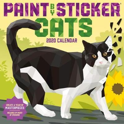 2020 Paint by Sticker Cats Wall Calendar by Workman Publishing image