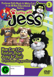 Guess With Jess: Vol 2 - How Can I Go Faster Than Joey & Jinx & Five Other Big Questions on DVD