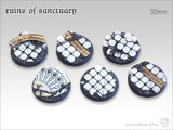 Tabletop-Art: Ruins of Sanctuary Bases - (32mm)